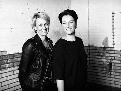 Marieke Haarman en Kyra Elders